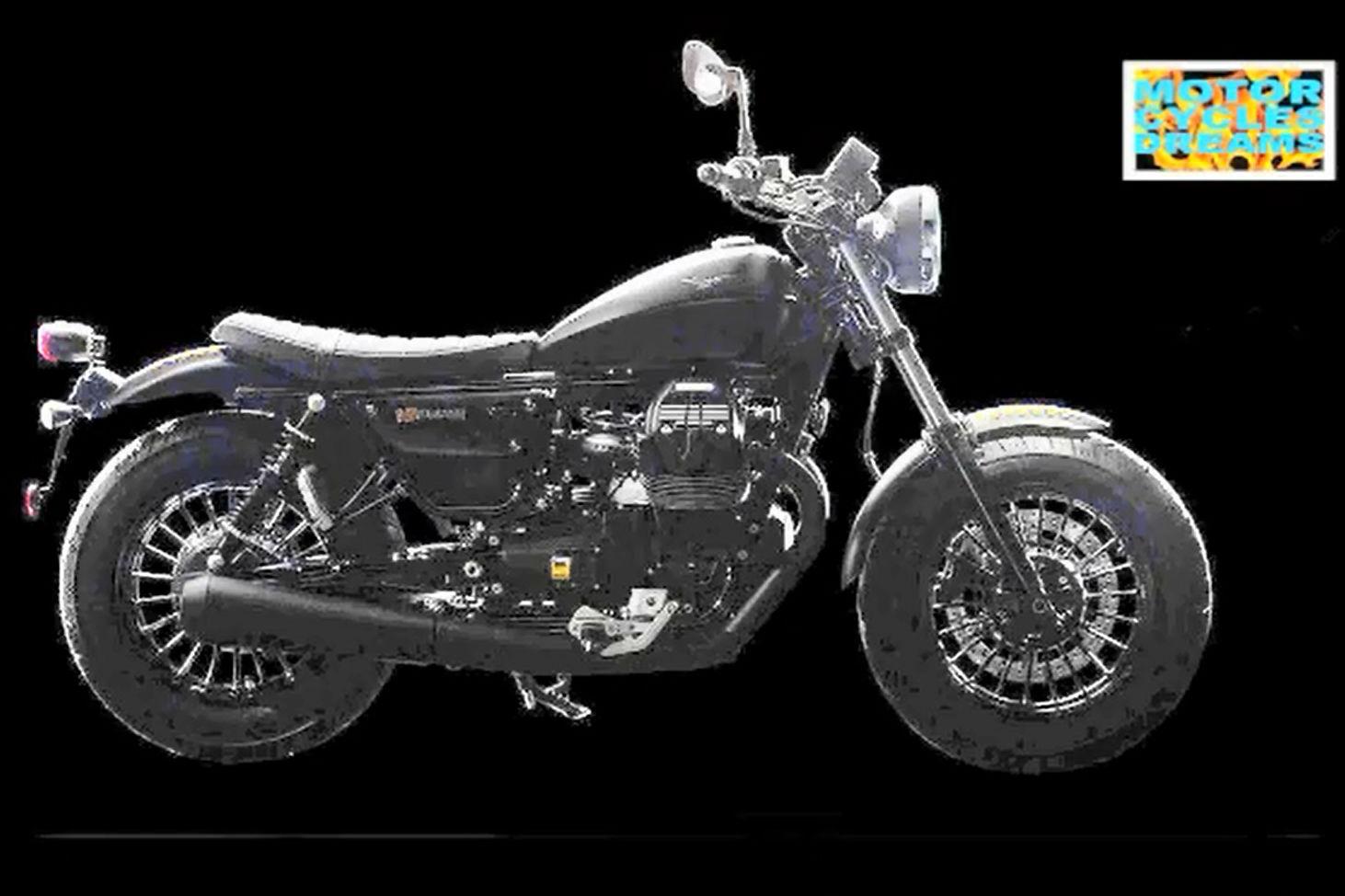 Moto Guzzi V9 revealed