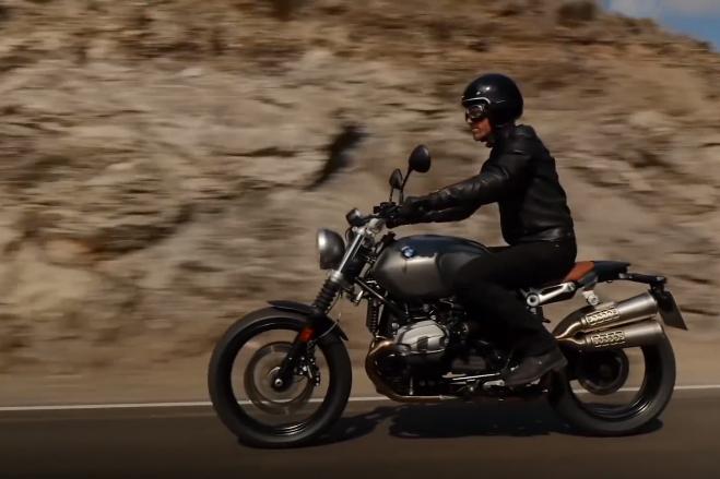 BMW R nineT Scrambler preview video