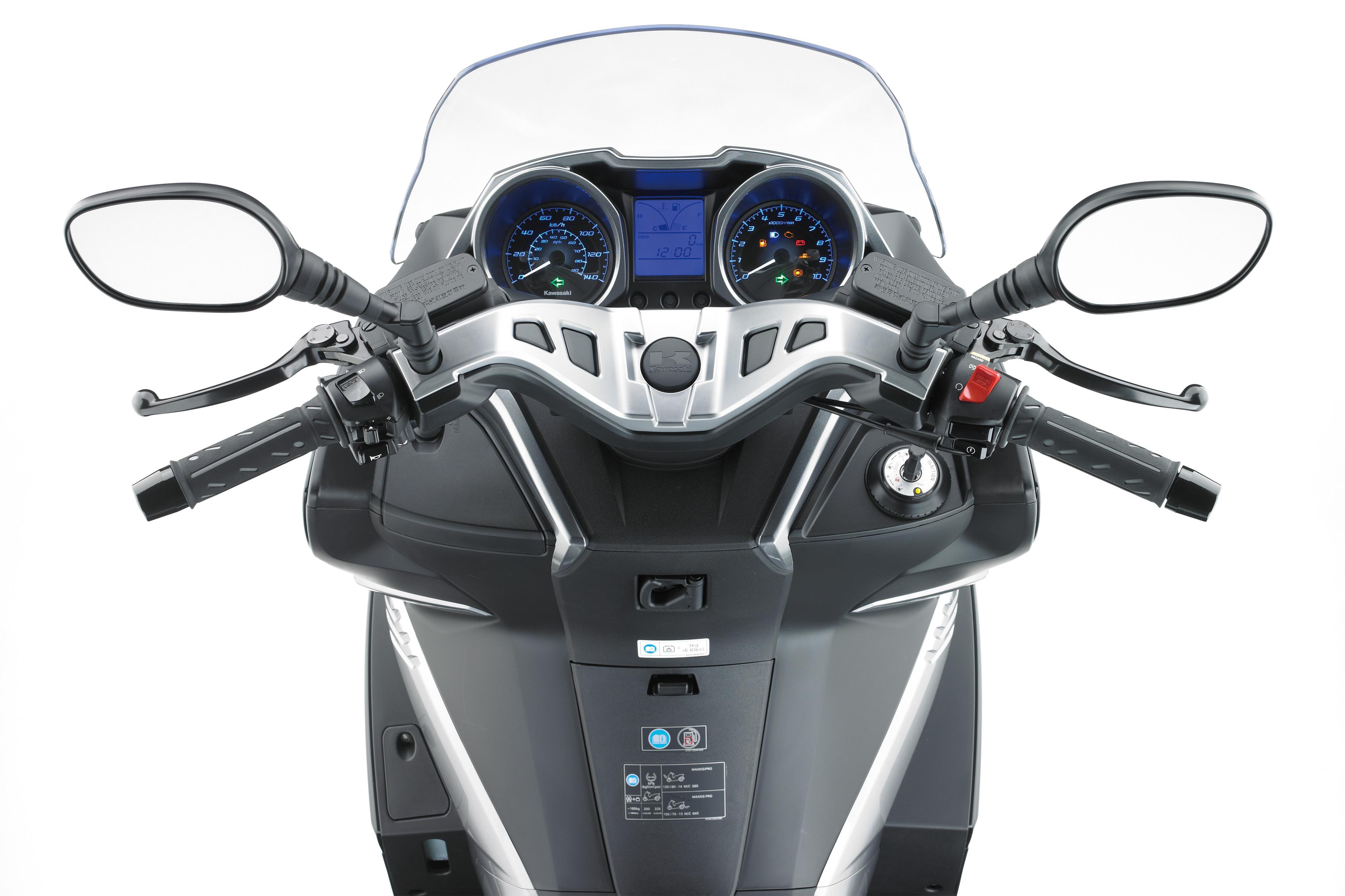 kawasaki announces its first 125cc scoot visordown. Black Bedroom Furniture Sets. Home Design Ideas
