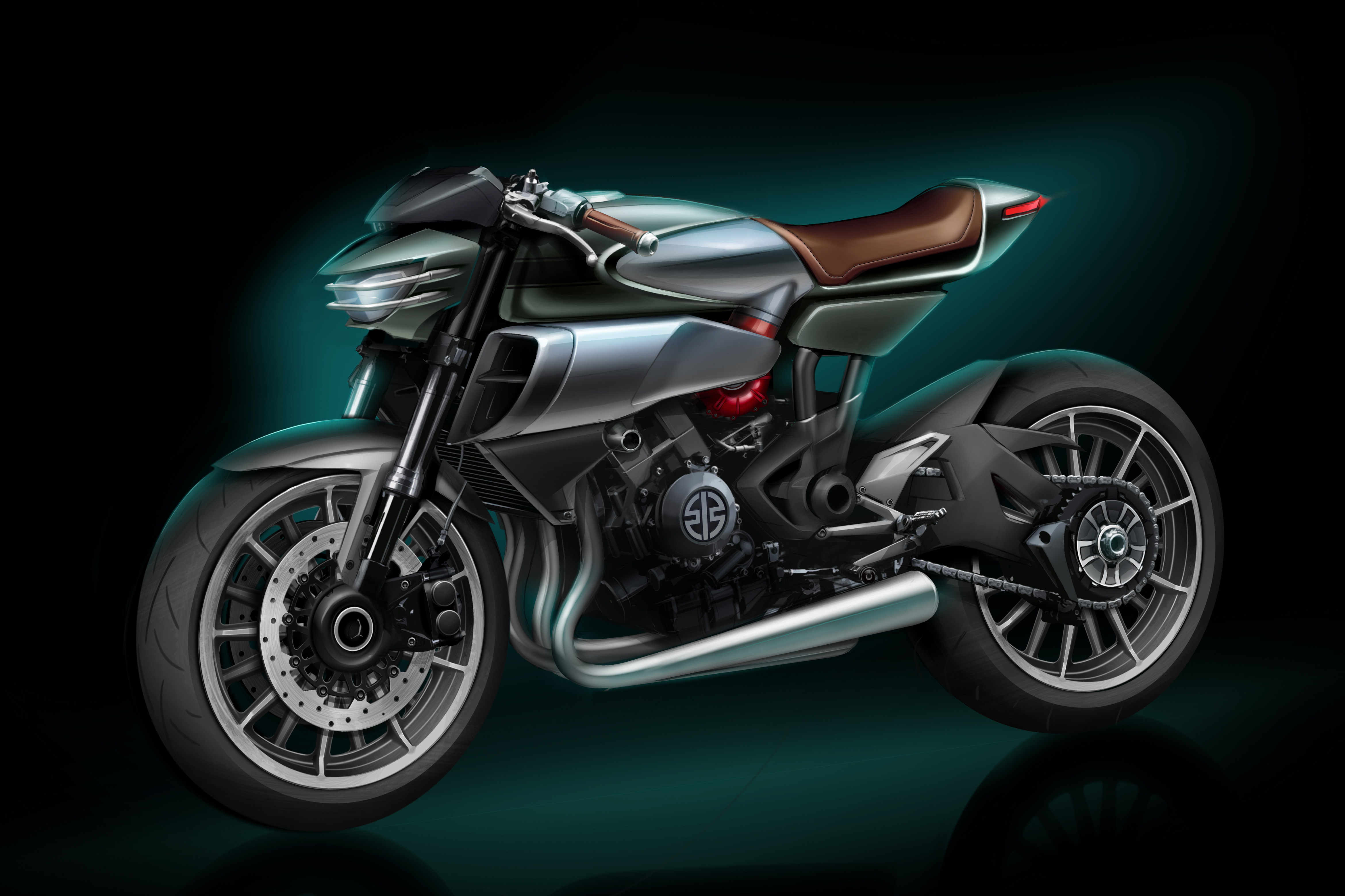 Kawasaki shows another new supercharged concept at Eicma