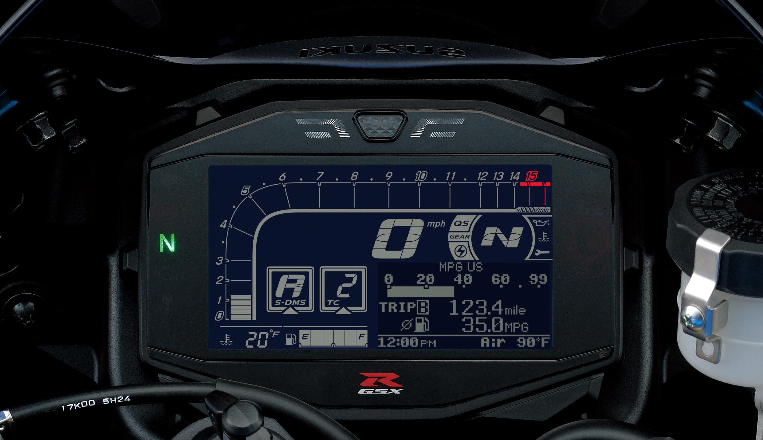 Finally - Suzuki's new GSX-R1000!