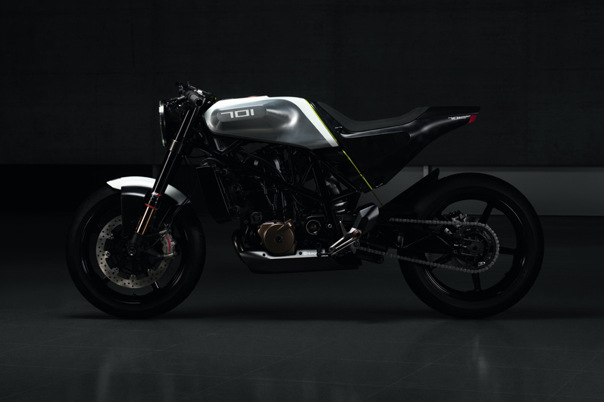 Husqvarna introduces its Vitpilen 701 concept at Eicma