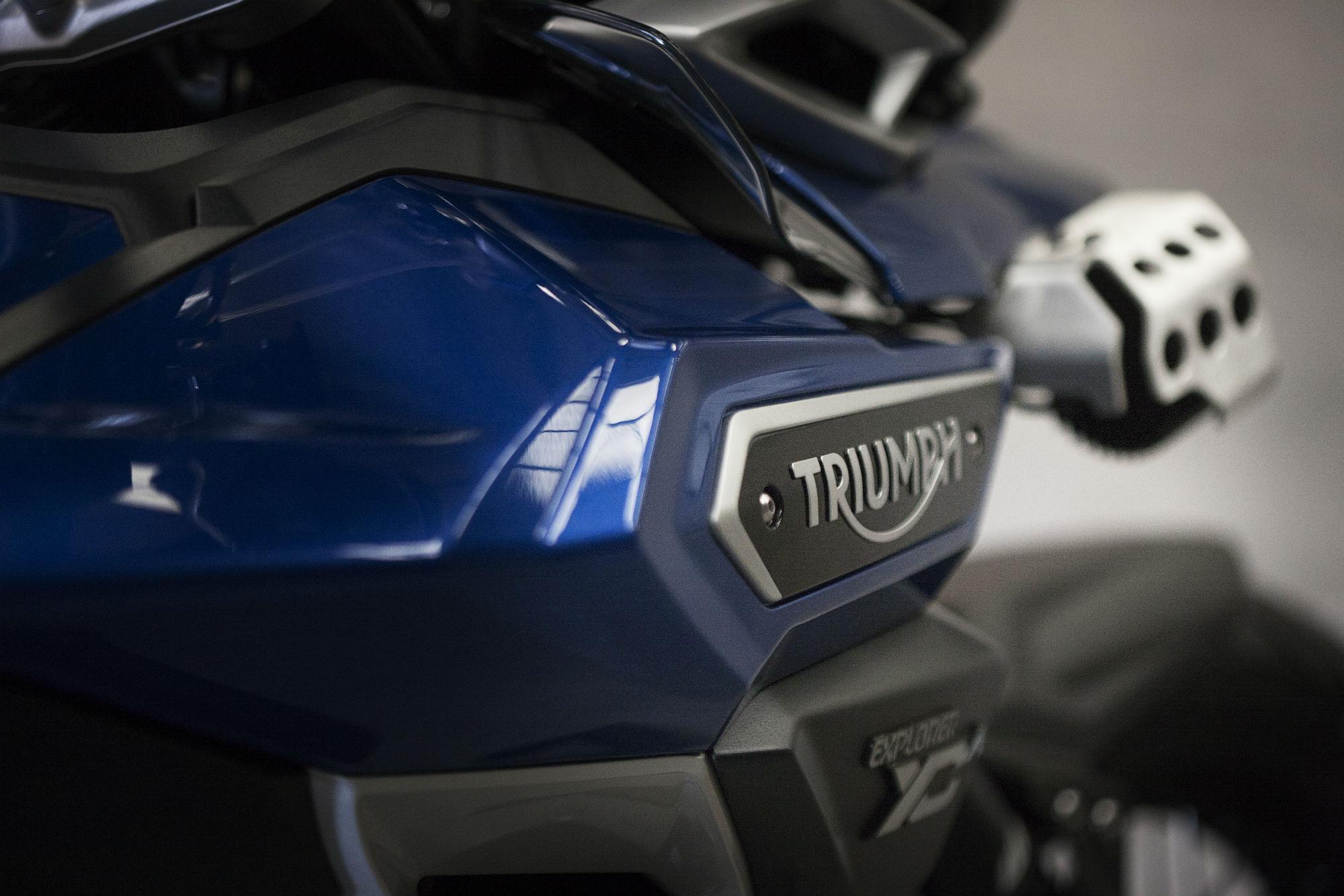 2016 Triumph Tiger Explorer debuts
