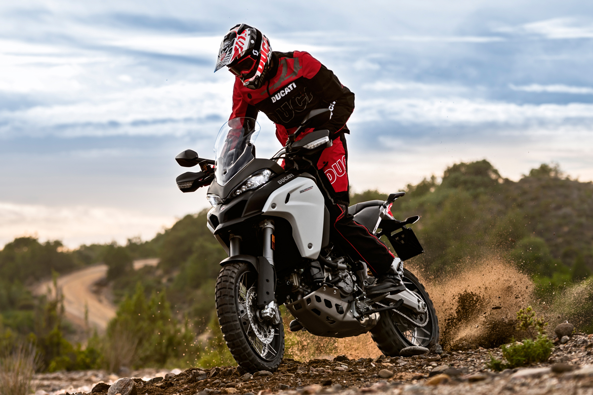 Ducati reveals new Multistrada 1200 Enduro
