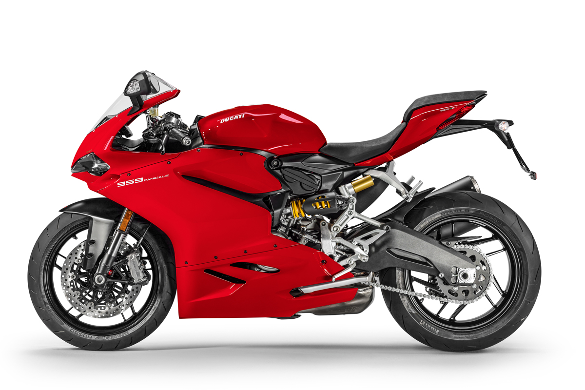 Ducati officially introduces the new 959 Panigale