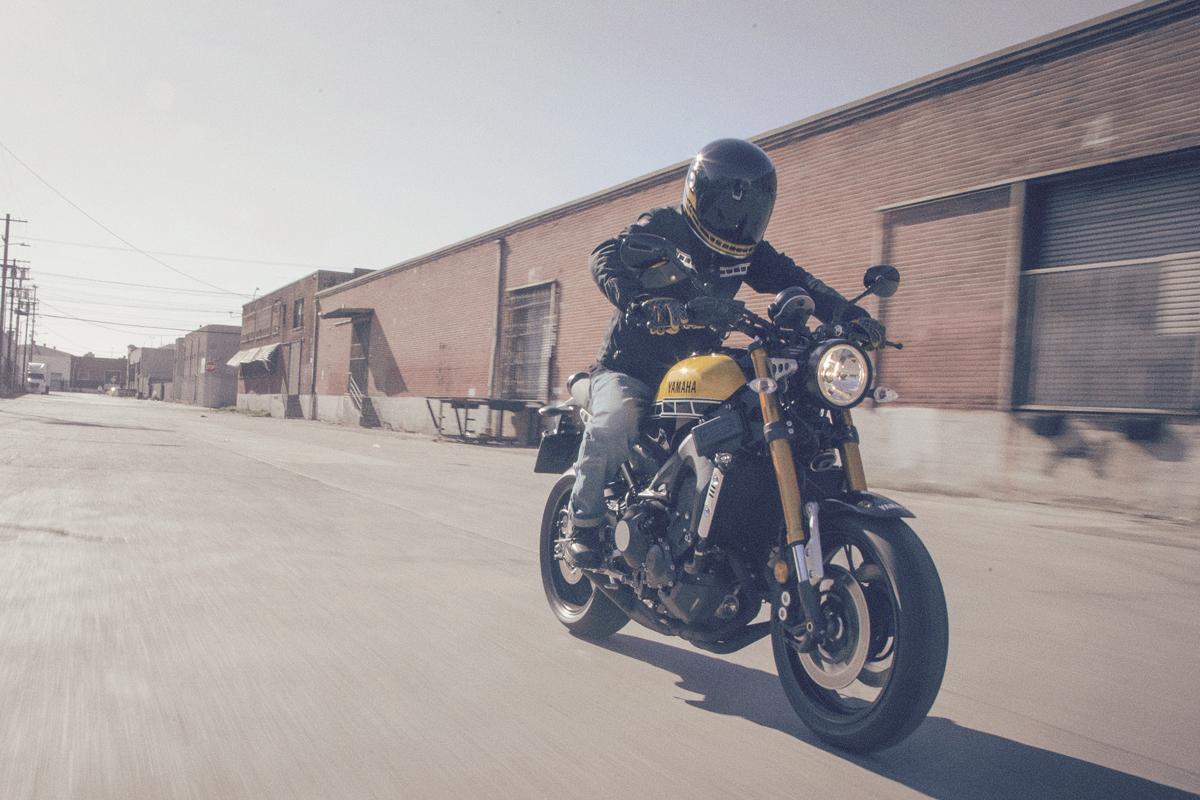 Yamaha introduces the XSR900