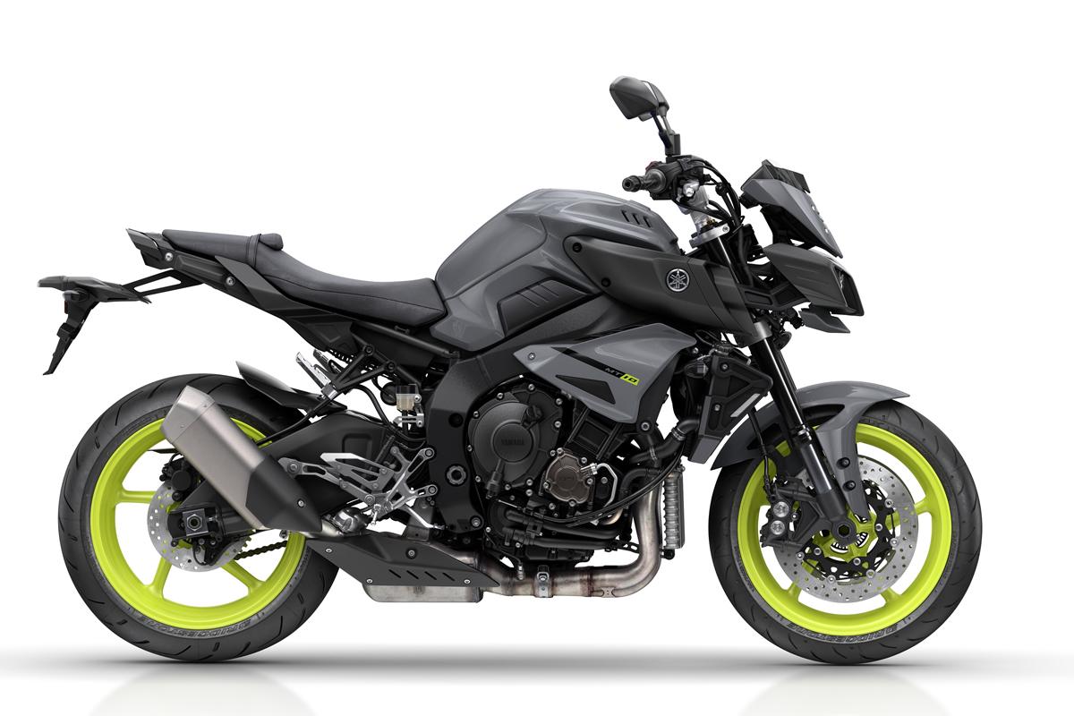 New Yamaha MT-10 unveiled