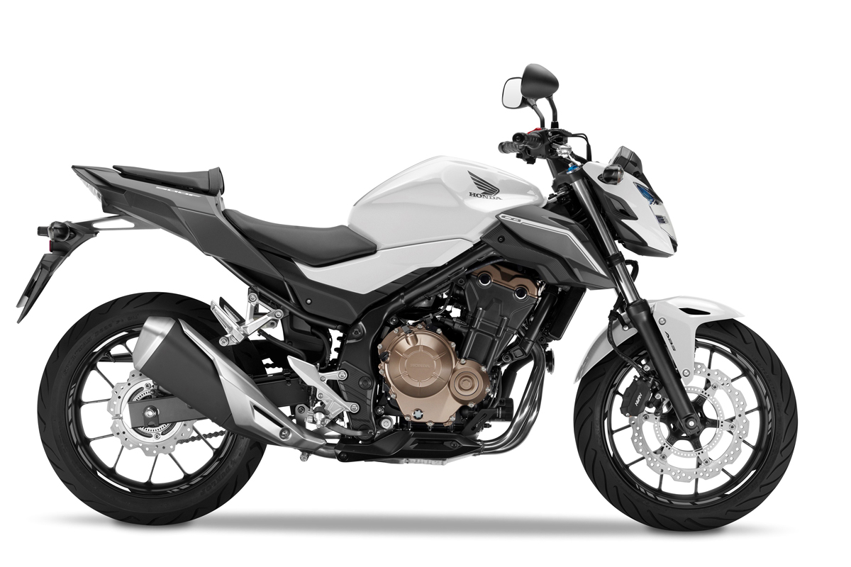 Updated CB500F, CBR500R and CB500X debut in Milan