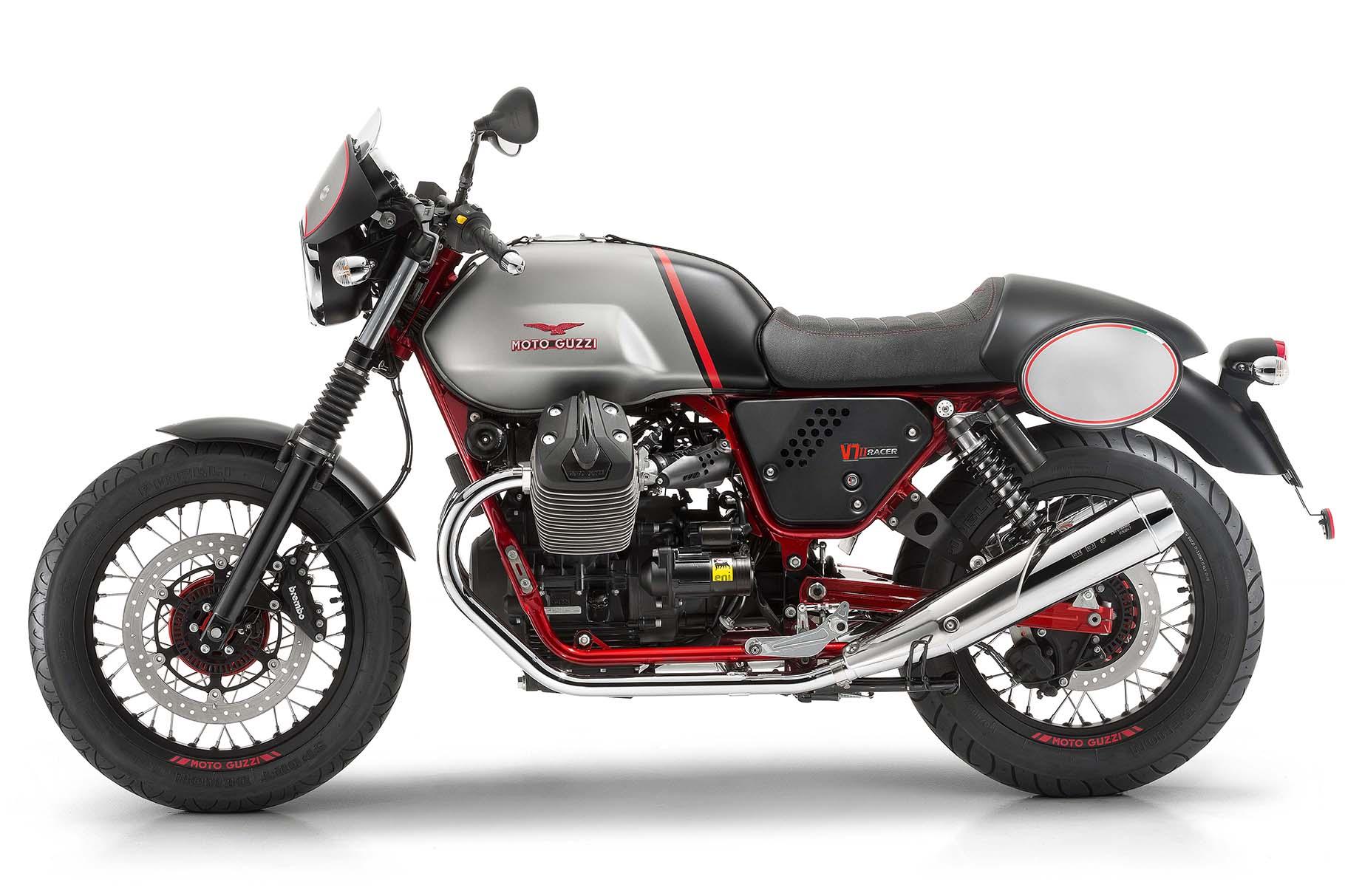 Moto Guzzi unveils four new bikes at Eicma