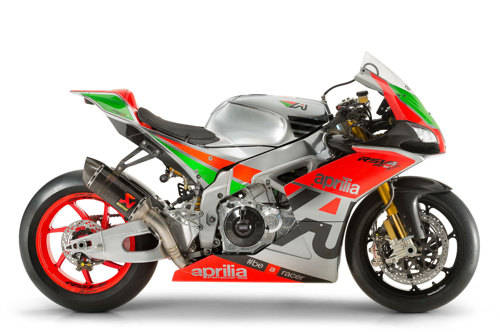 Aprilia updates the RSV4 and introduces a 'Factory Works' version, the RSV4 R-FW