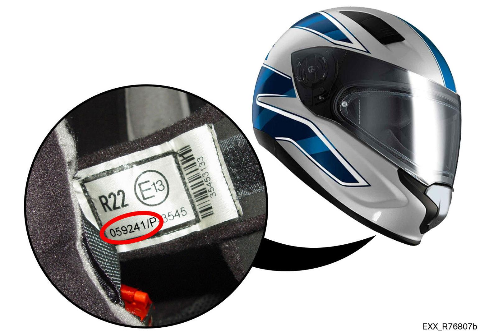 BMW helmet recall