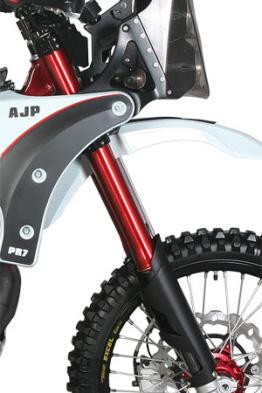 AJP's 600cc adventure bike for £7K