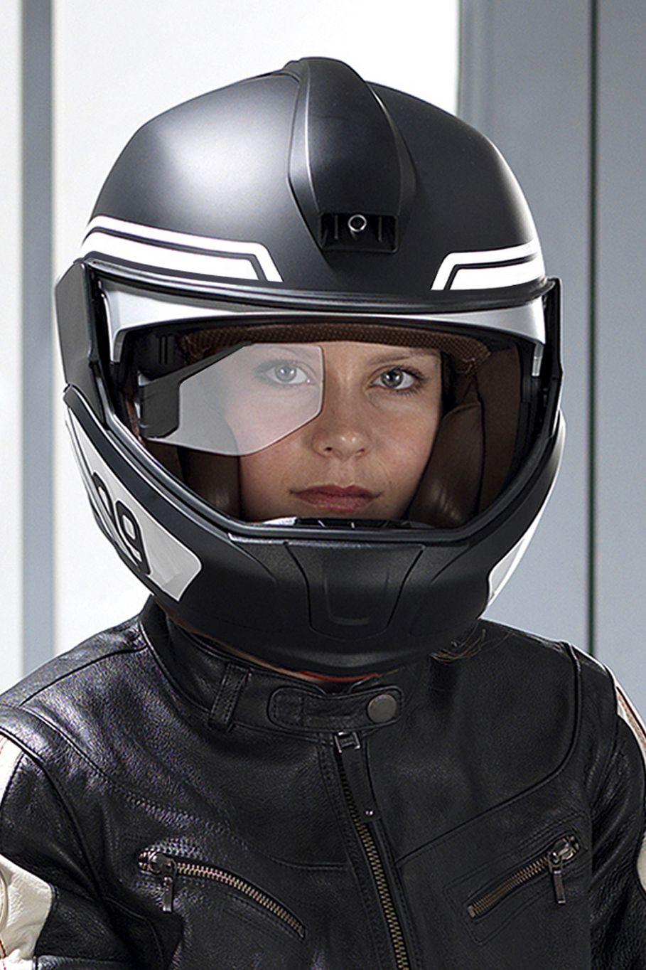 BMW developing HUD helmet