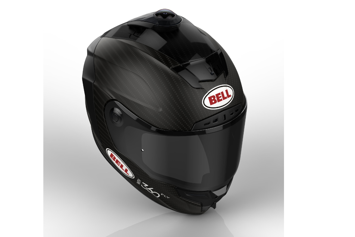 Bell announces 'smart' helmet with 360-degree video camera