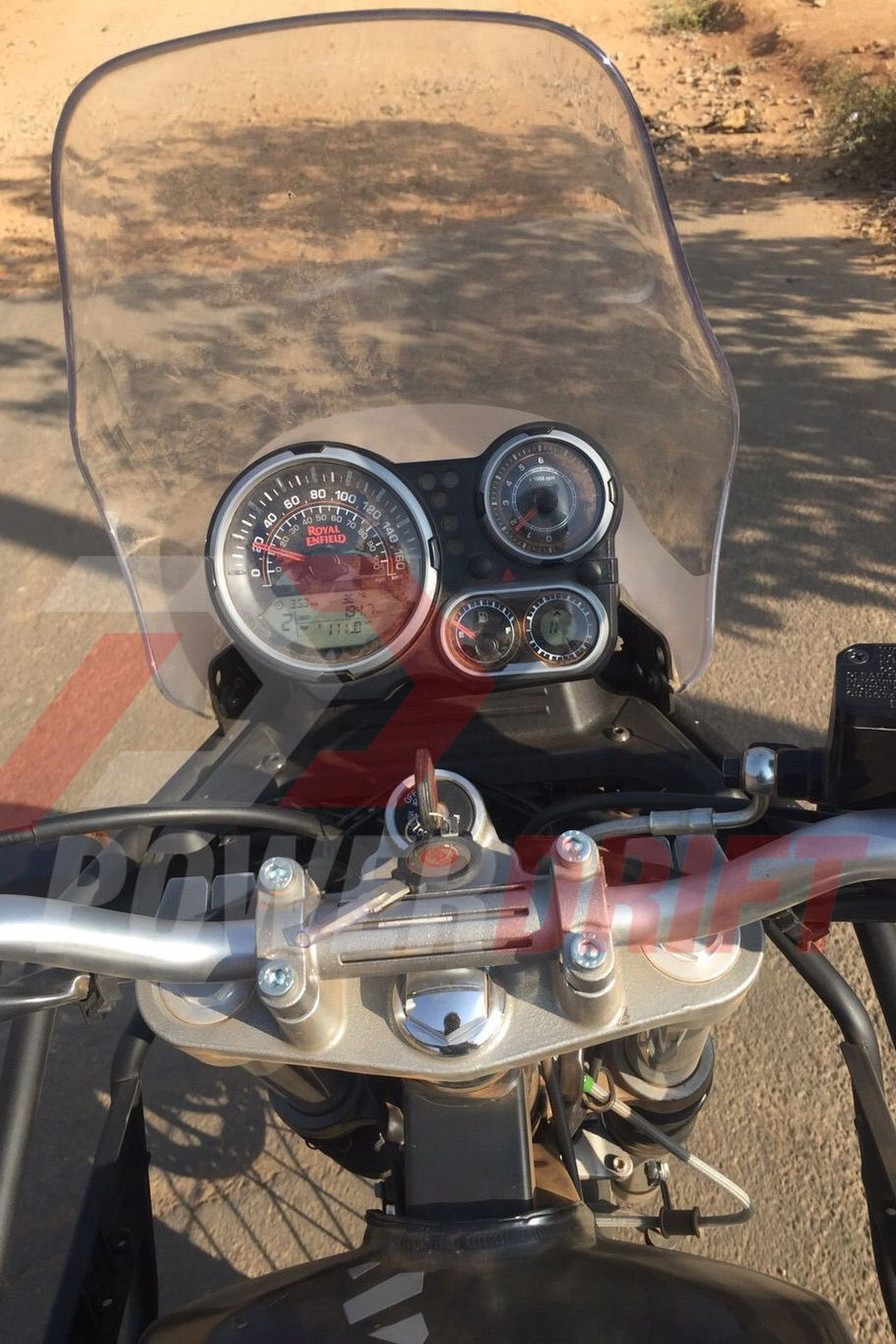 Royal Enfield Himalayan instruments revealed
