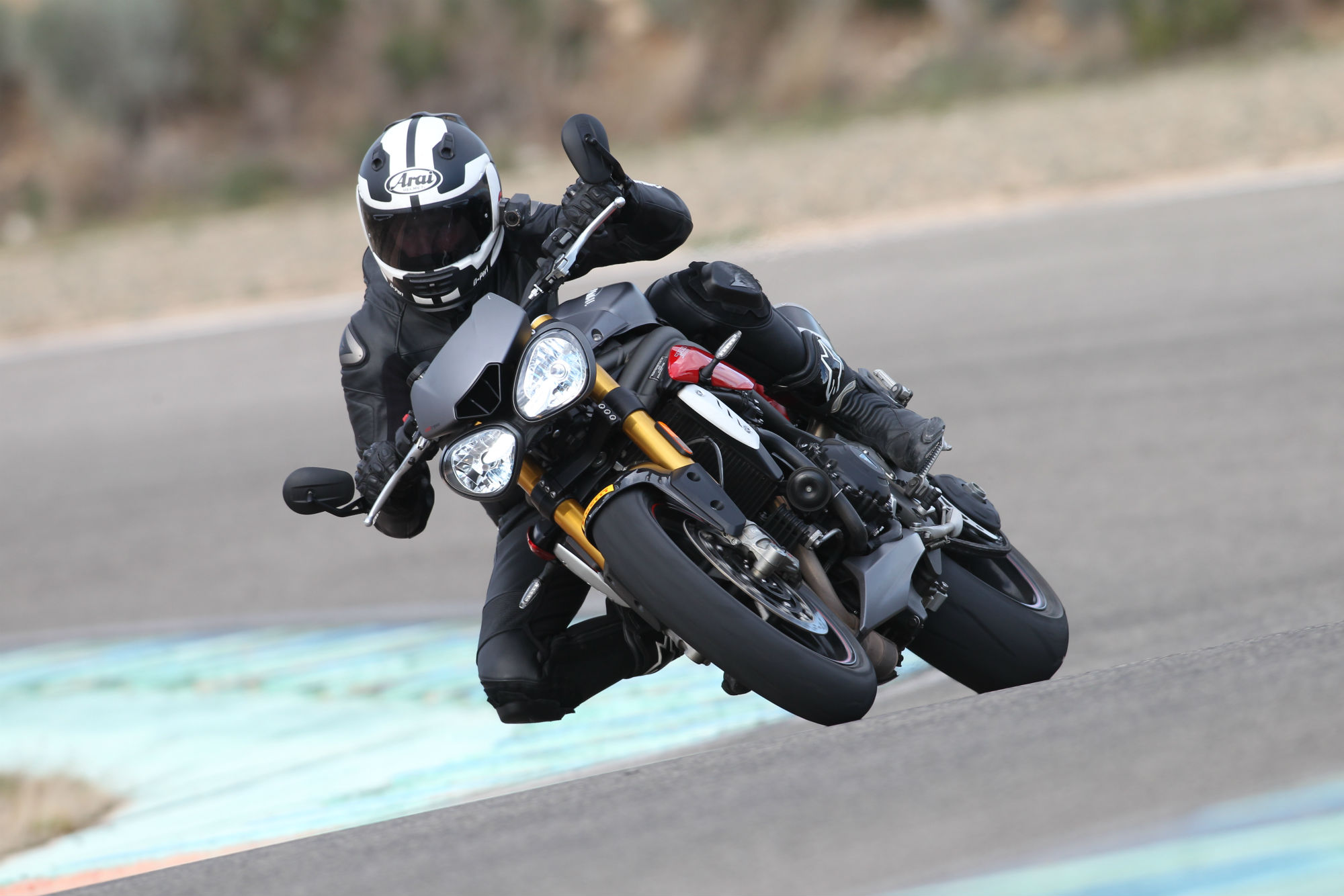 First ride: Triumph Speed Triple R review