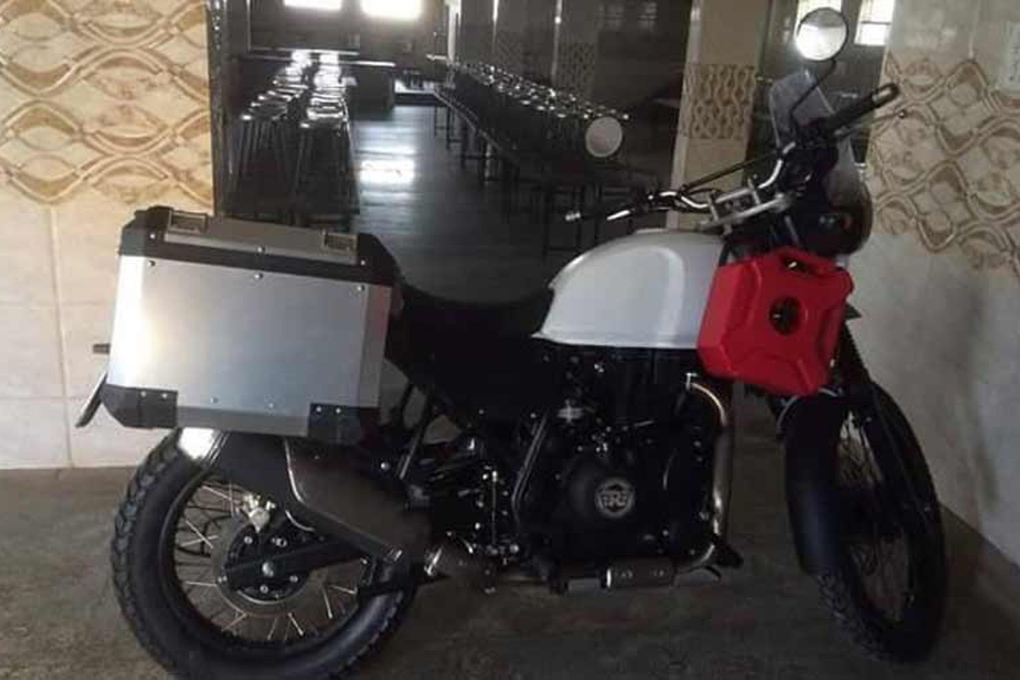 This is what the Royal Enfield Himalayan sounds like