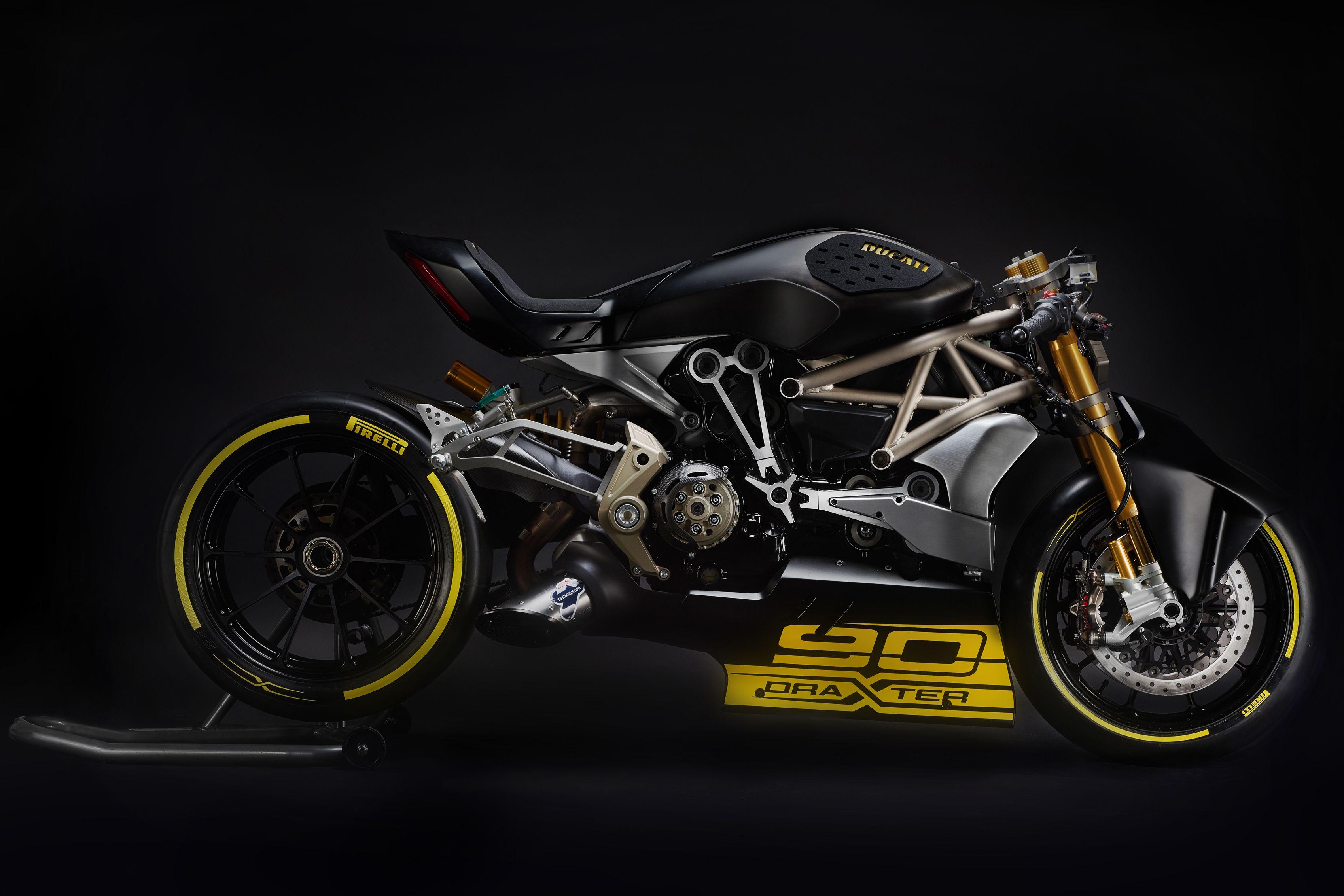 Ducati unveils draXter concept bike