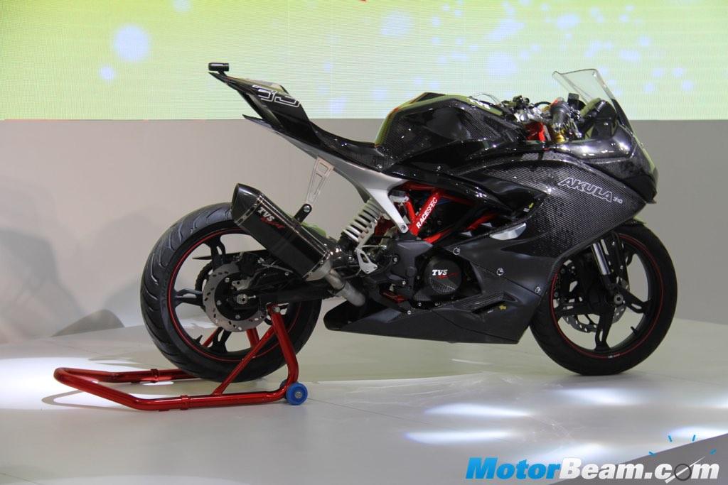 TVS unveils 'Akula 310' concept