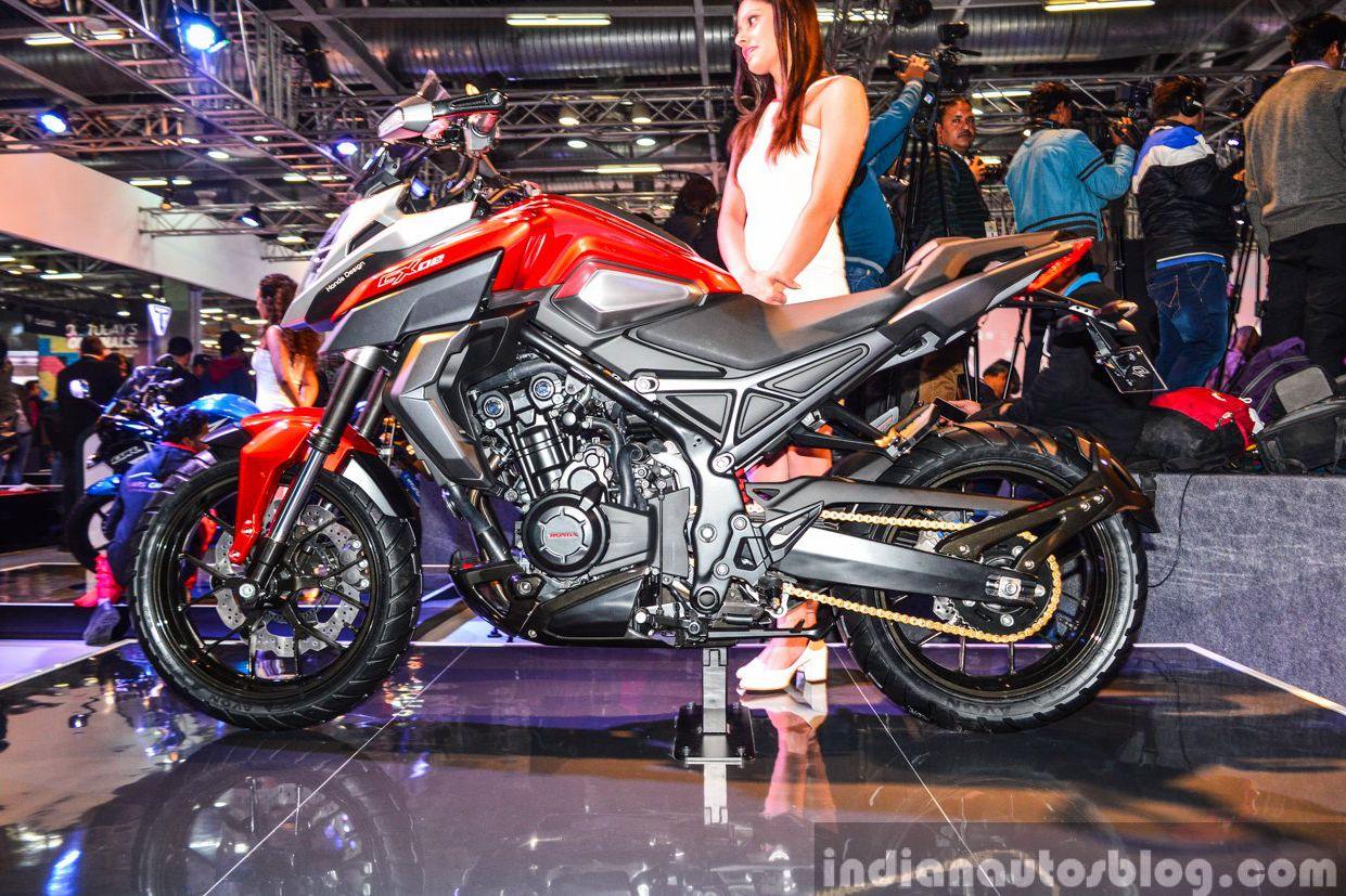 Honda CB500X becomes CX-02 concept