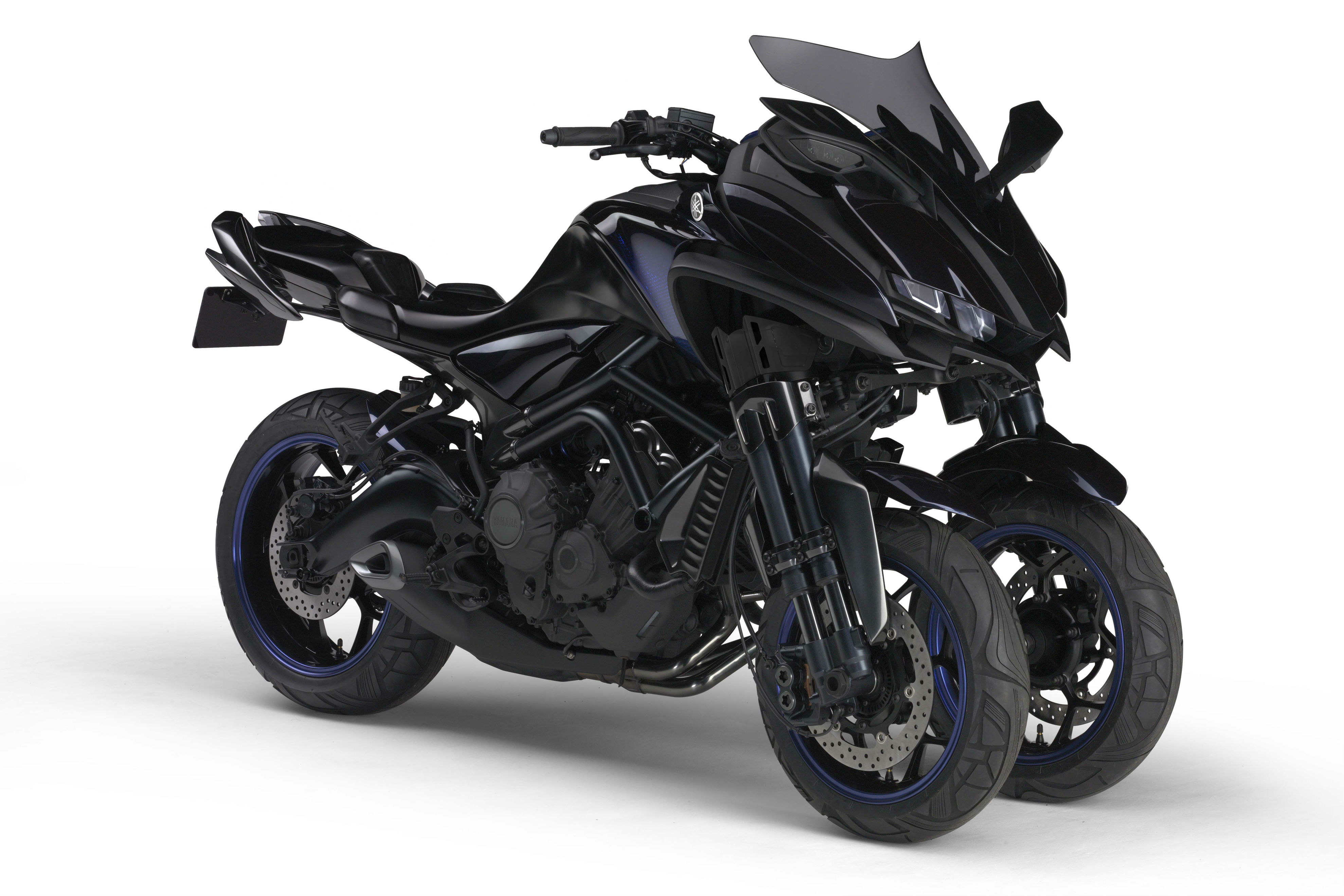Yamaha MWT-9 three-wheeler bound for production