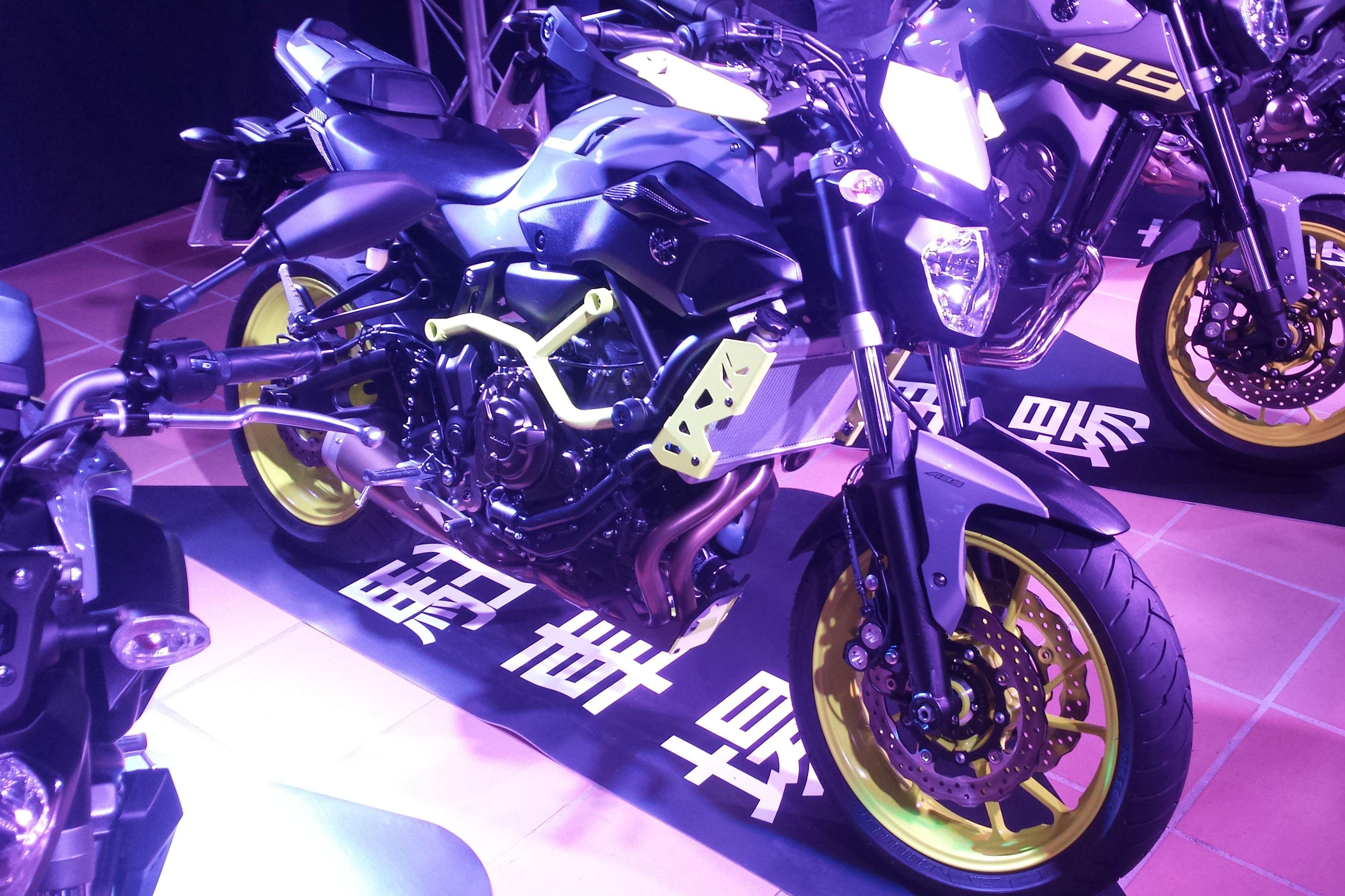 Yamaha MT-07 Moto Cage 'Night Fluo' revealed
