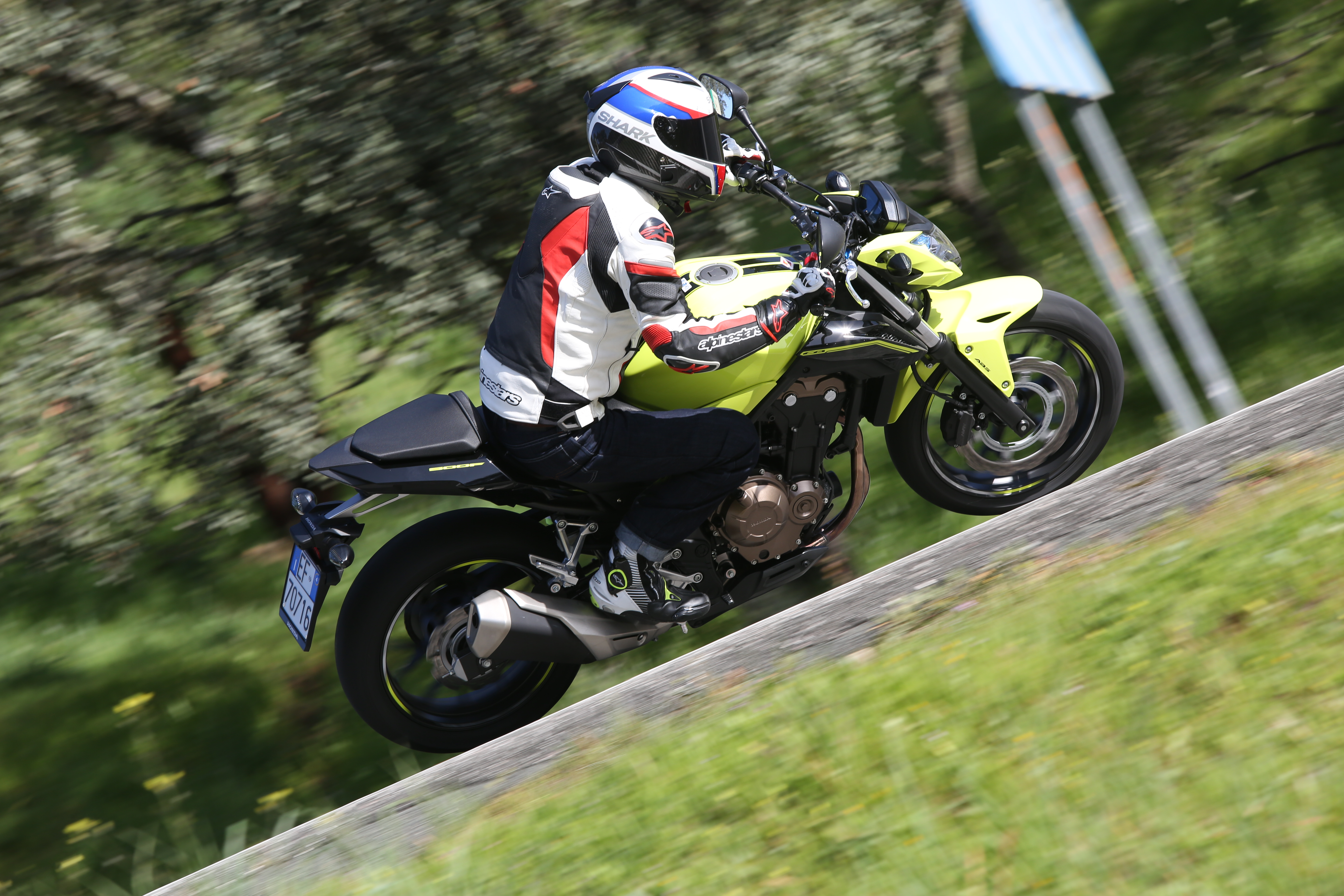 First ride: Honda CB