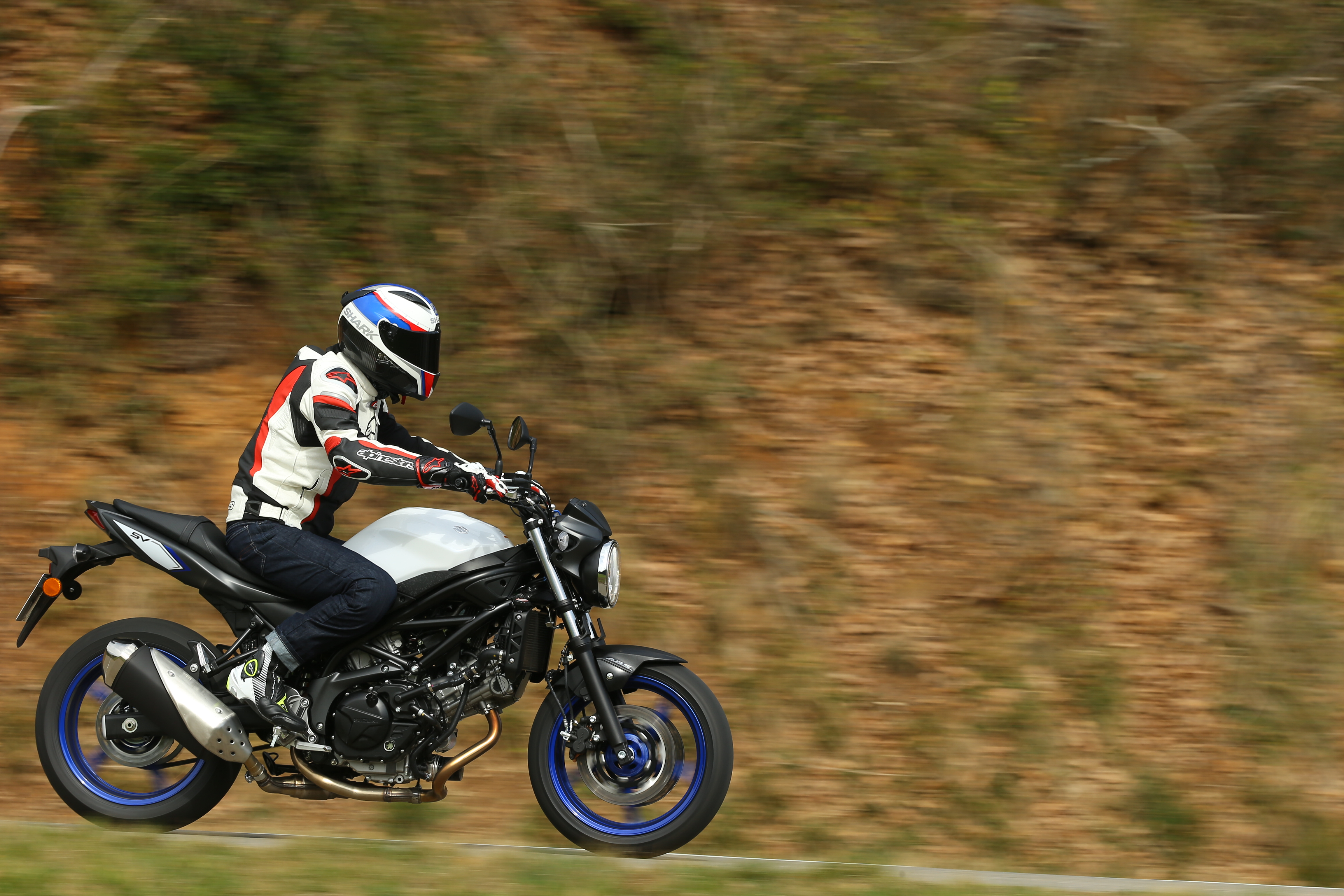 first ride suzuki sv650 review visordown. Black Bedroom Furniture Sets. Home Design Ideas