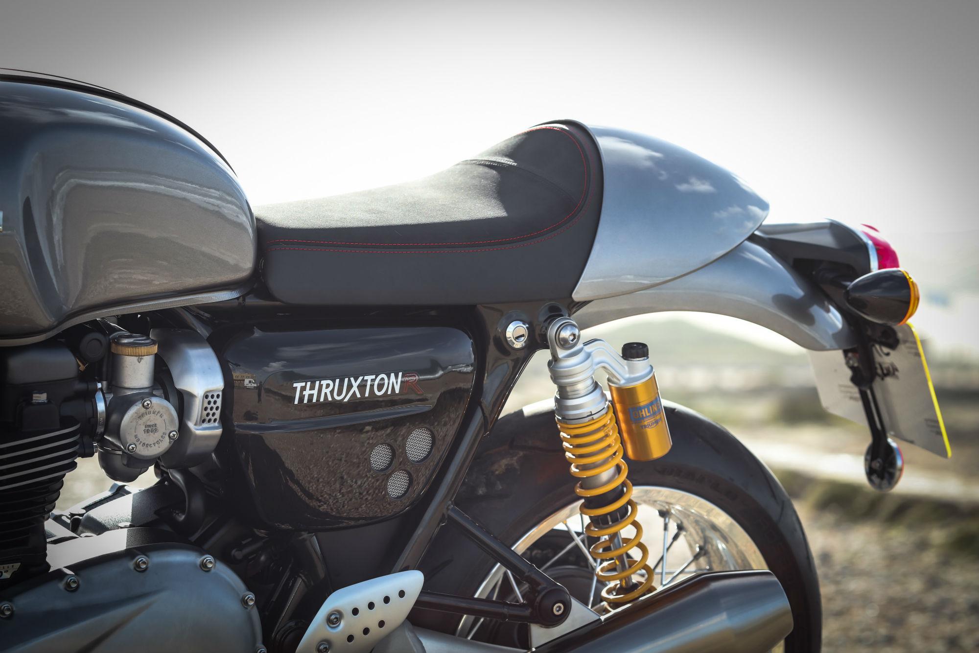 First ride: Triumph Thruxton R review