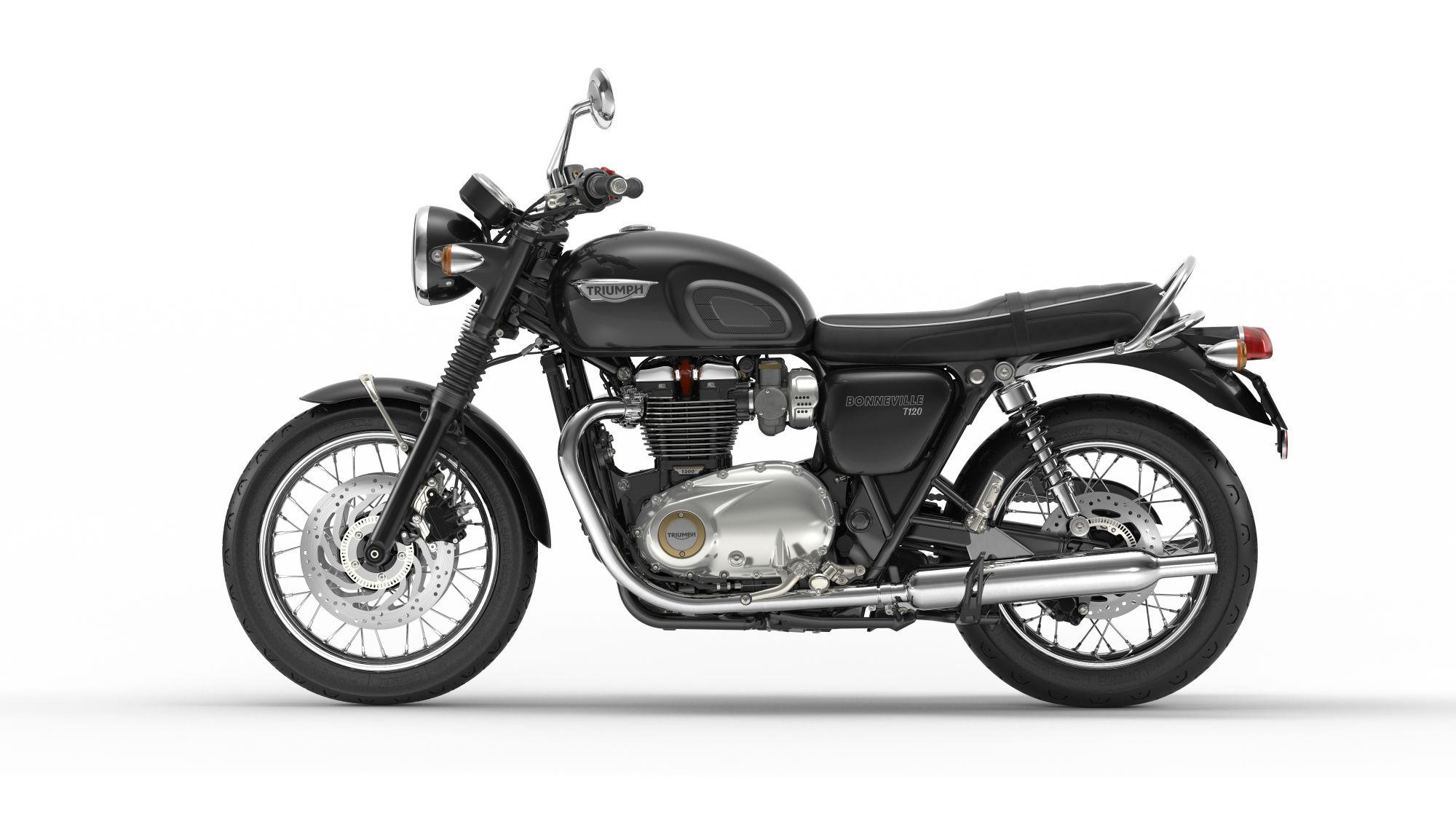 First Ride Triumph Bonneville T120 Review Visordown