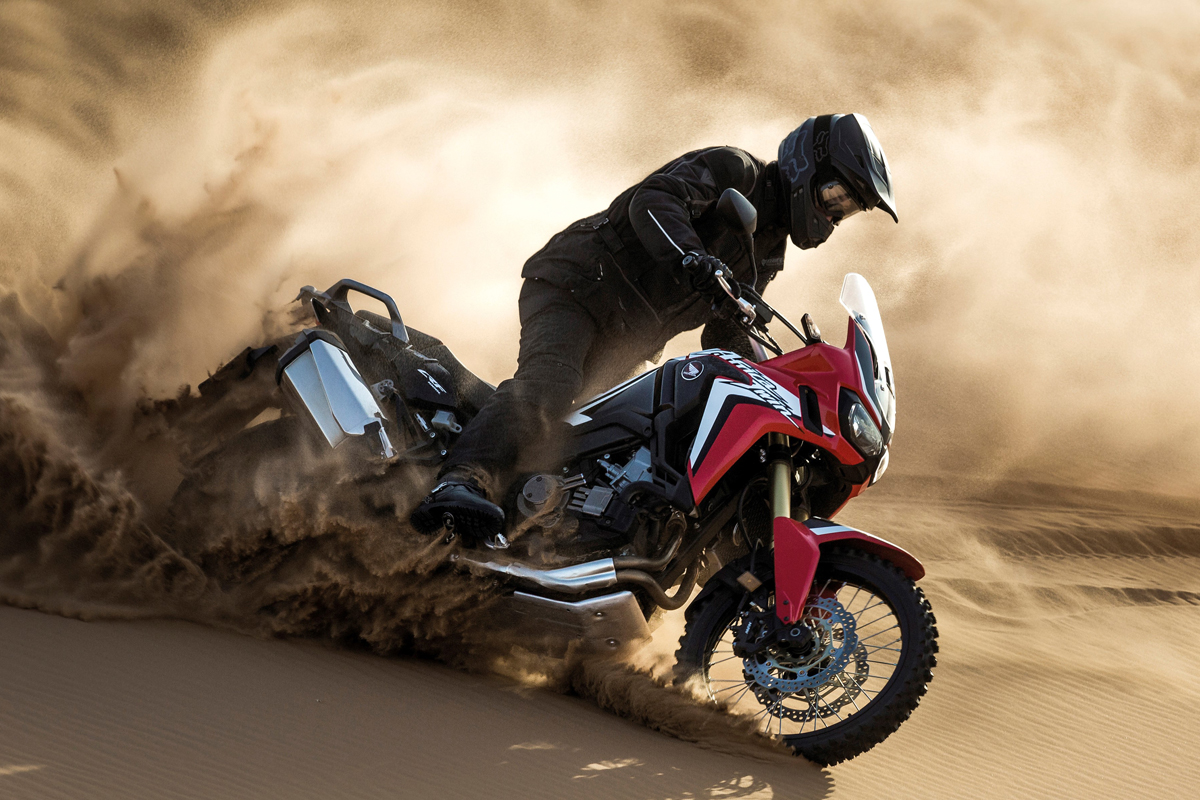 Dakar-style Africa Twin concept coming