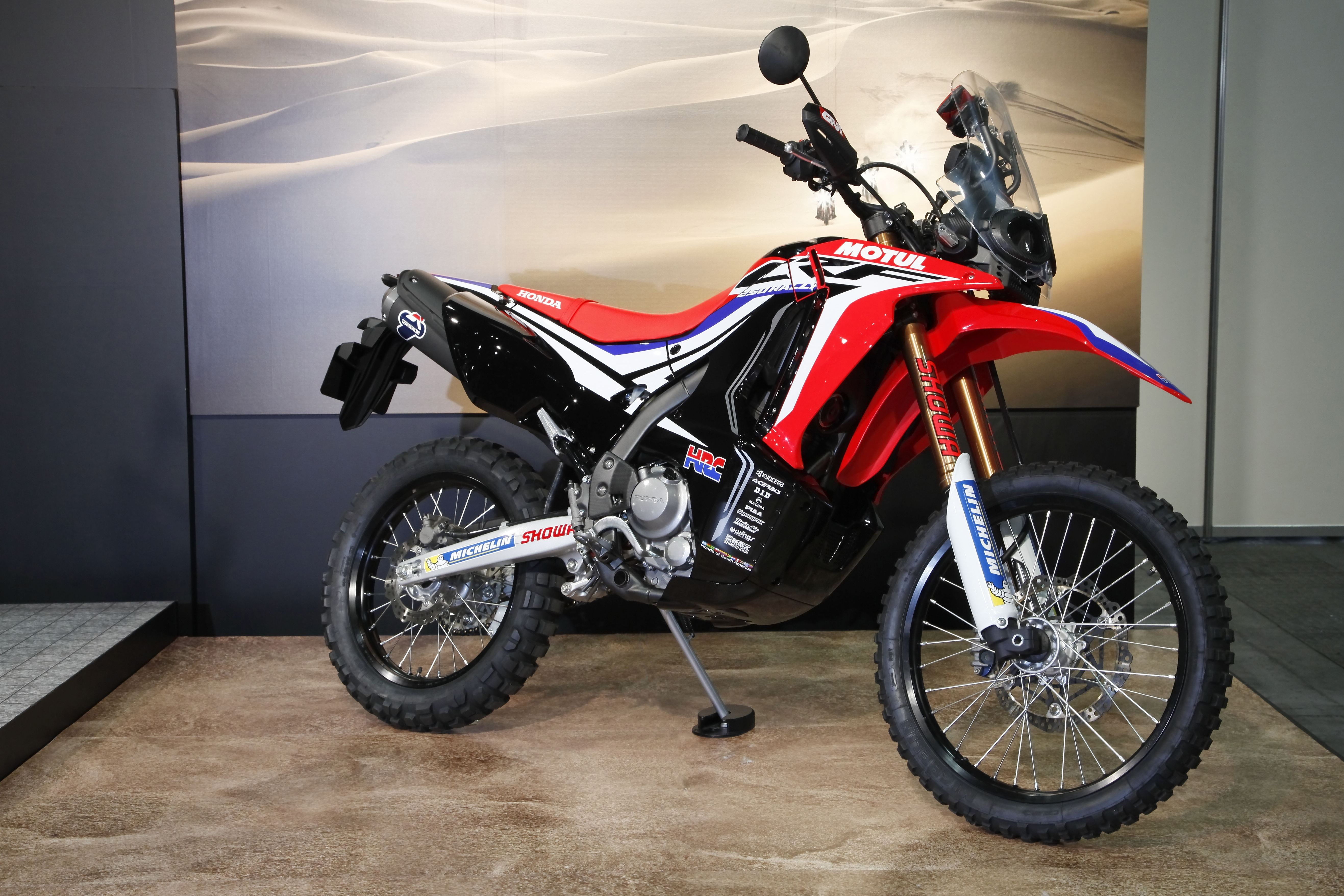 Honda CRF250 Rally prototype revealed