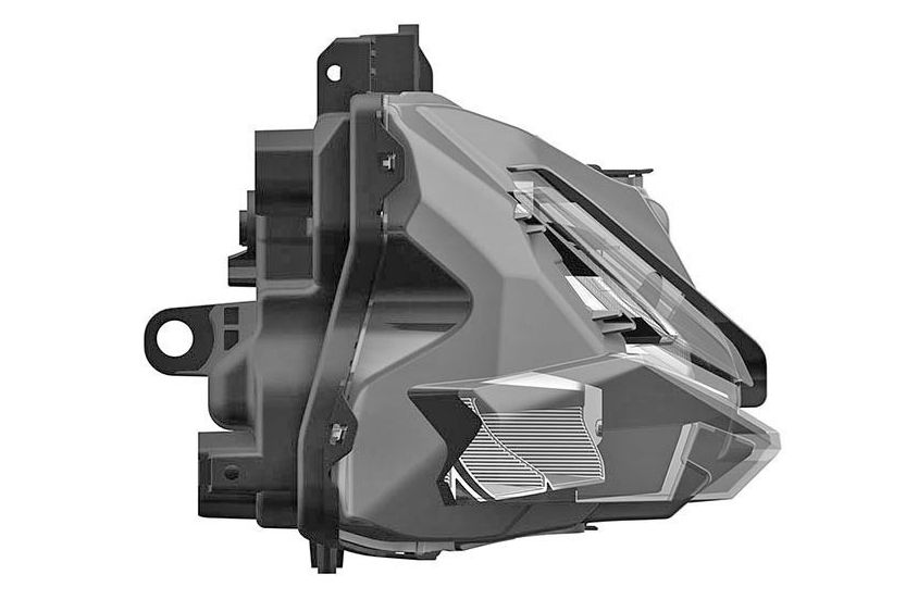 Honda CBR250RR headlight outed in patent