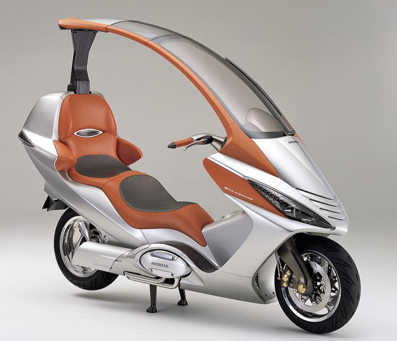 Top 10 bikes with roofs visordown for How much does a motor scooter cost