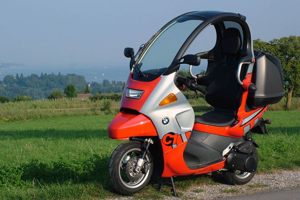 Top 10 Bikes With Roofs Visordown