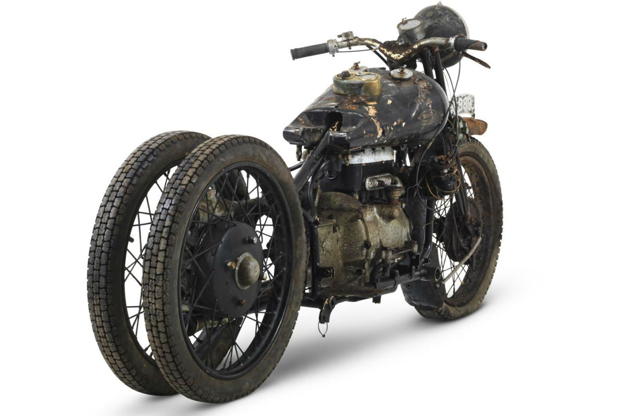 Brough Superior BS4 sets new record for a British bike sold at auction
