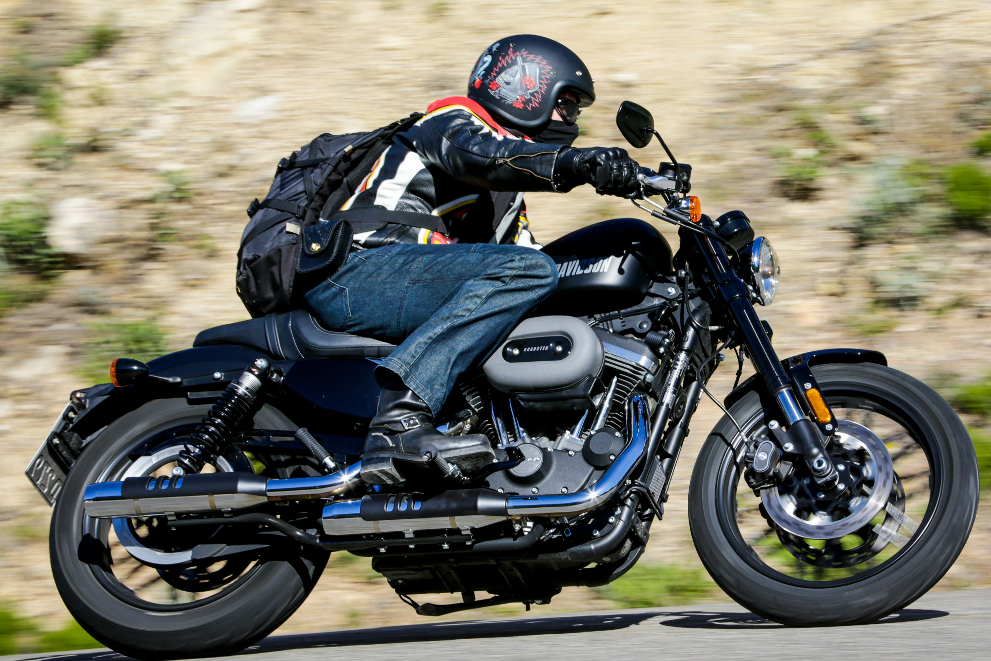 First Ride Harley Davidson Roadster And Visordown