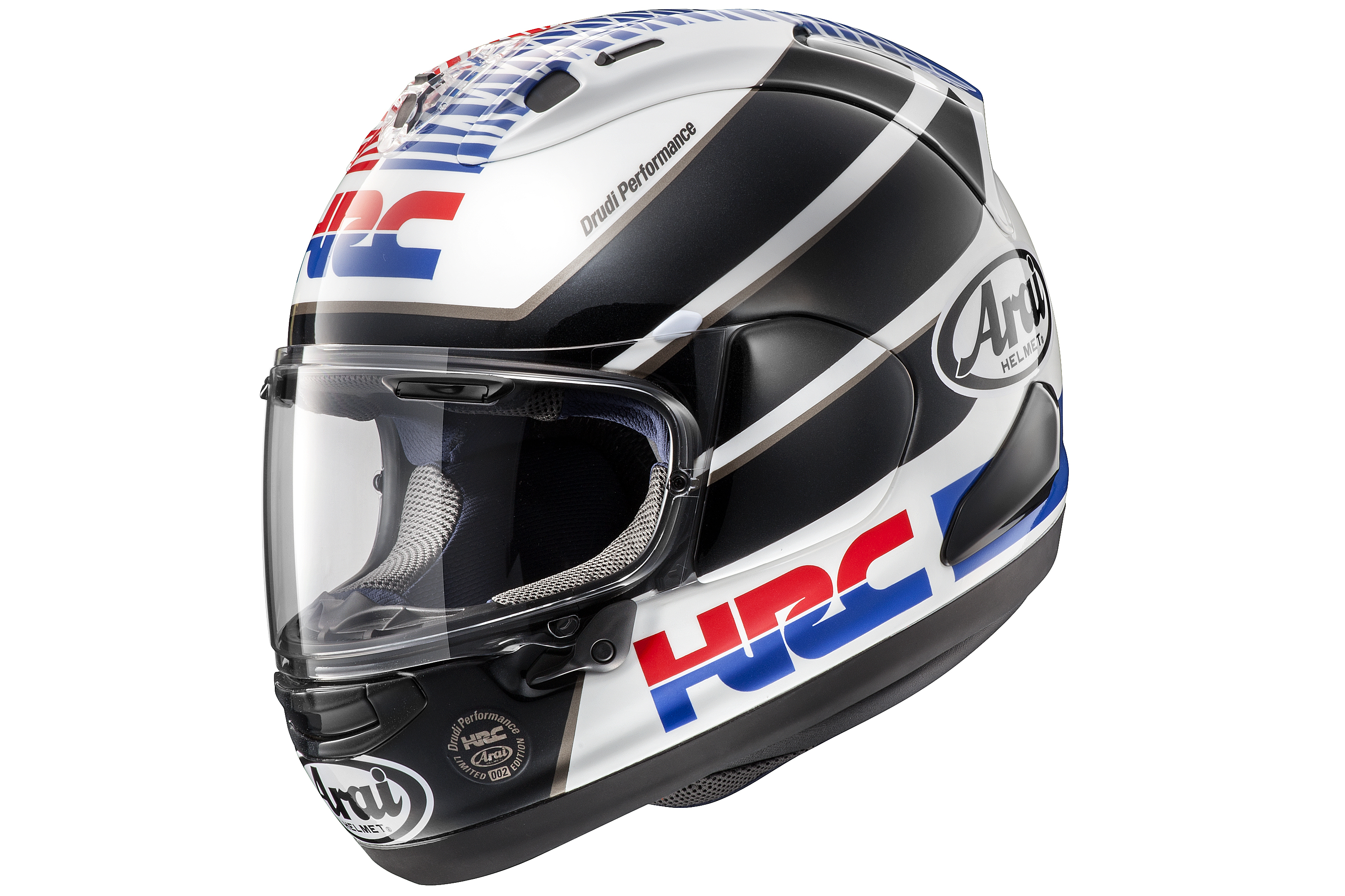 new limited edition arai rx 7v hrc visordown. Black Bedroom Furniture Sets. Home Design Ideas