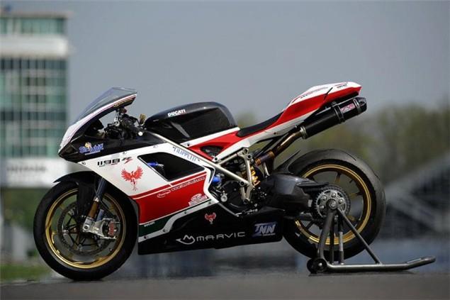 The £85,000 Ducati 1198S