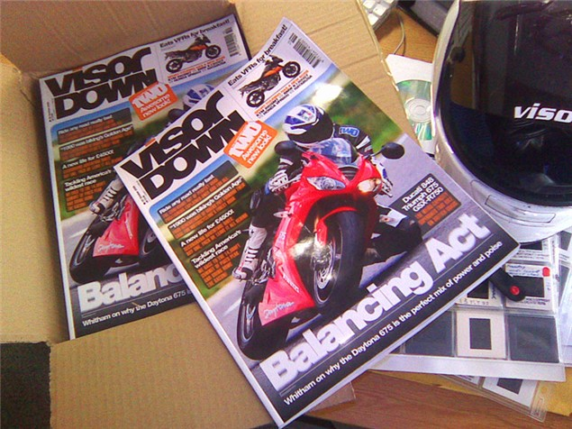 Visordown mag, issue 2 just landed