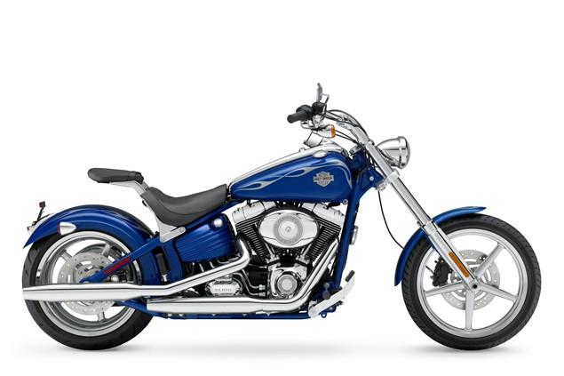 Harley Davidson Rocker C - first UK ride
