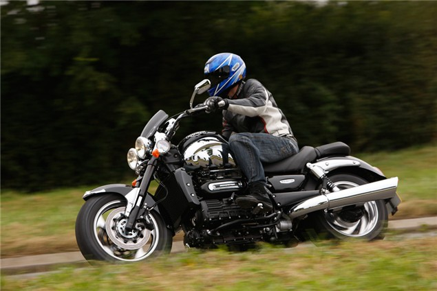 First Ride: 2010 Triumph Rocket 3 Roadster