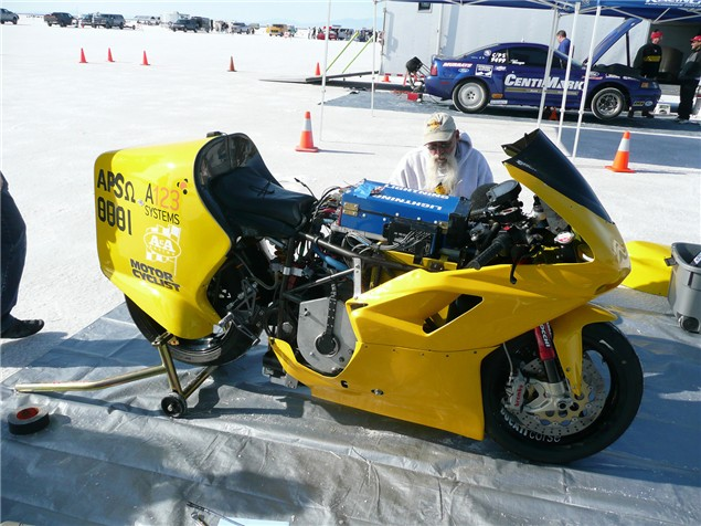Electric bike hits 166mph in new speed record