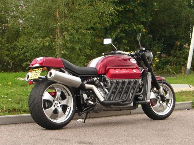 200mph V10 bike on show at NEC