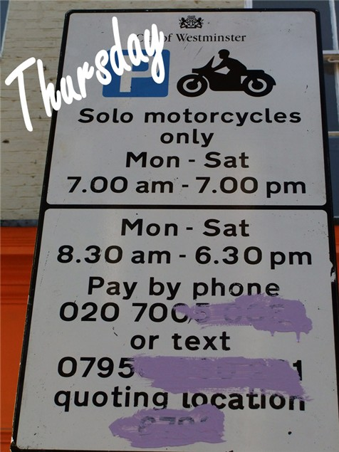 Bikers fight back at Westminster parking charge