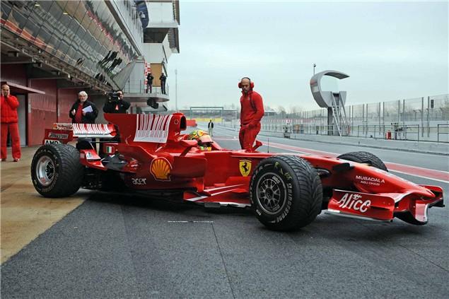 Valentino Rossi Ferrari F1 picture special