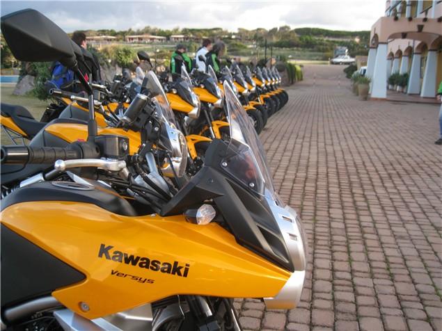 2010 Kawasaki Versys First Ride