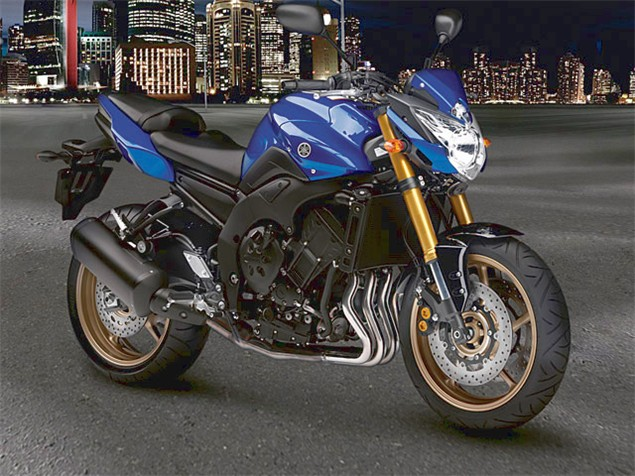2010 Yamaha FZ8 official images