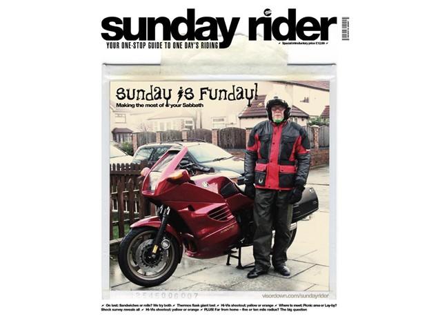 Visordown launches new magazine - Sunday Rider