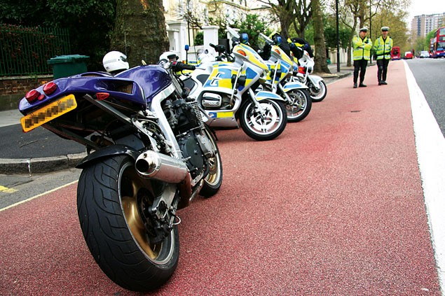 On patrol with the Met police